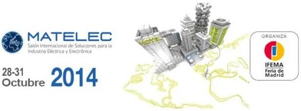 Logo de la feria MATELEC 2014 en IFEMA del 28 al 31 de octubre