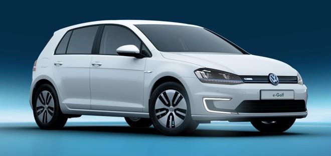 Imagen oficial del Volkswagen e-Golf