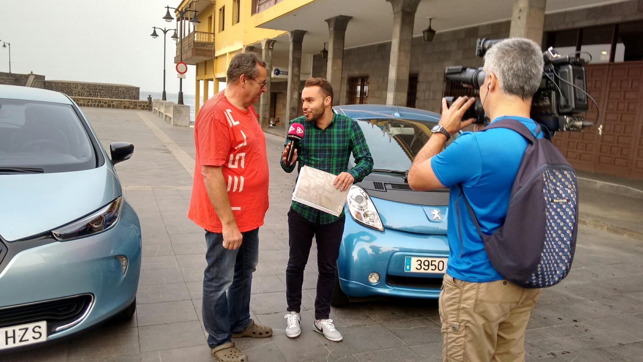 Entrevistas en El Mirador, programa sobre el Coche Eléctrico
