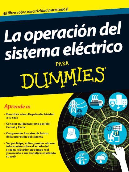 Portada libro La operación del sistema eléctrico para dummies
