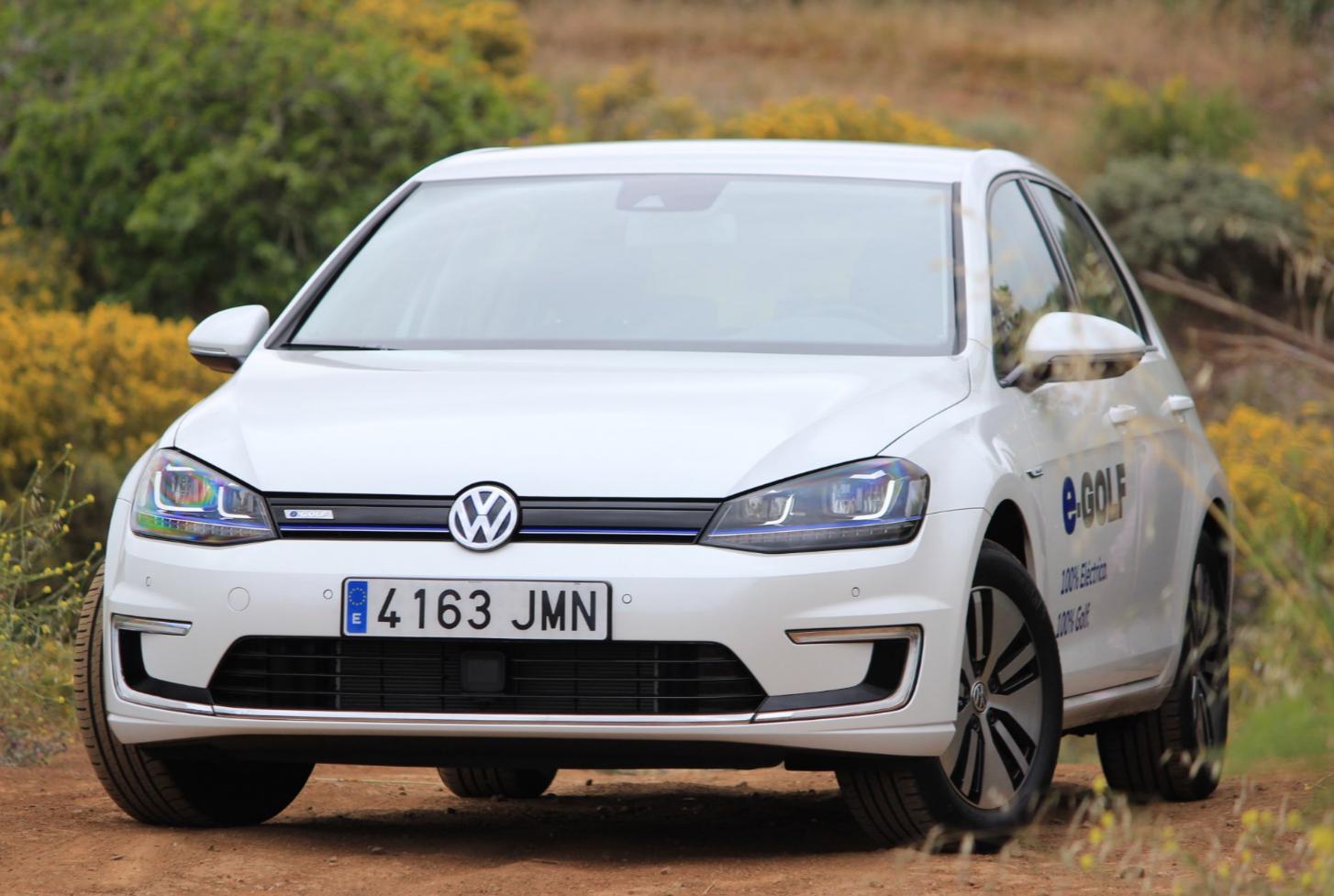 Vista general del VW e-Golf | Foto: Arlangton