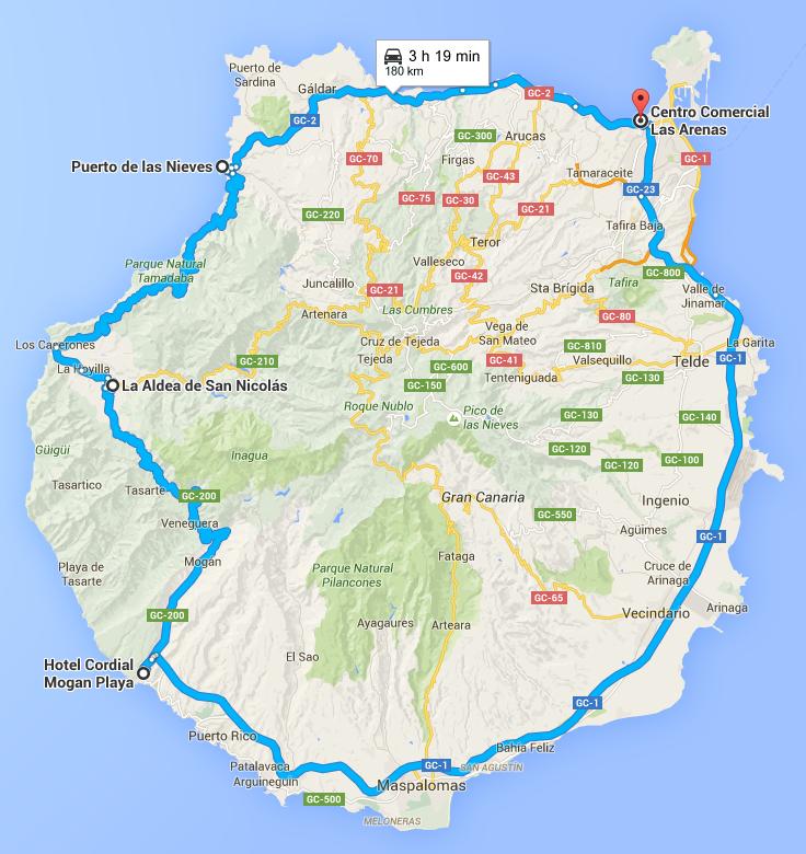 Vuelta a Gran Canaria