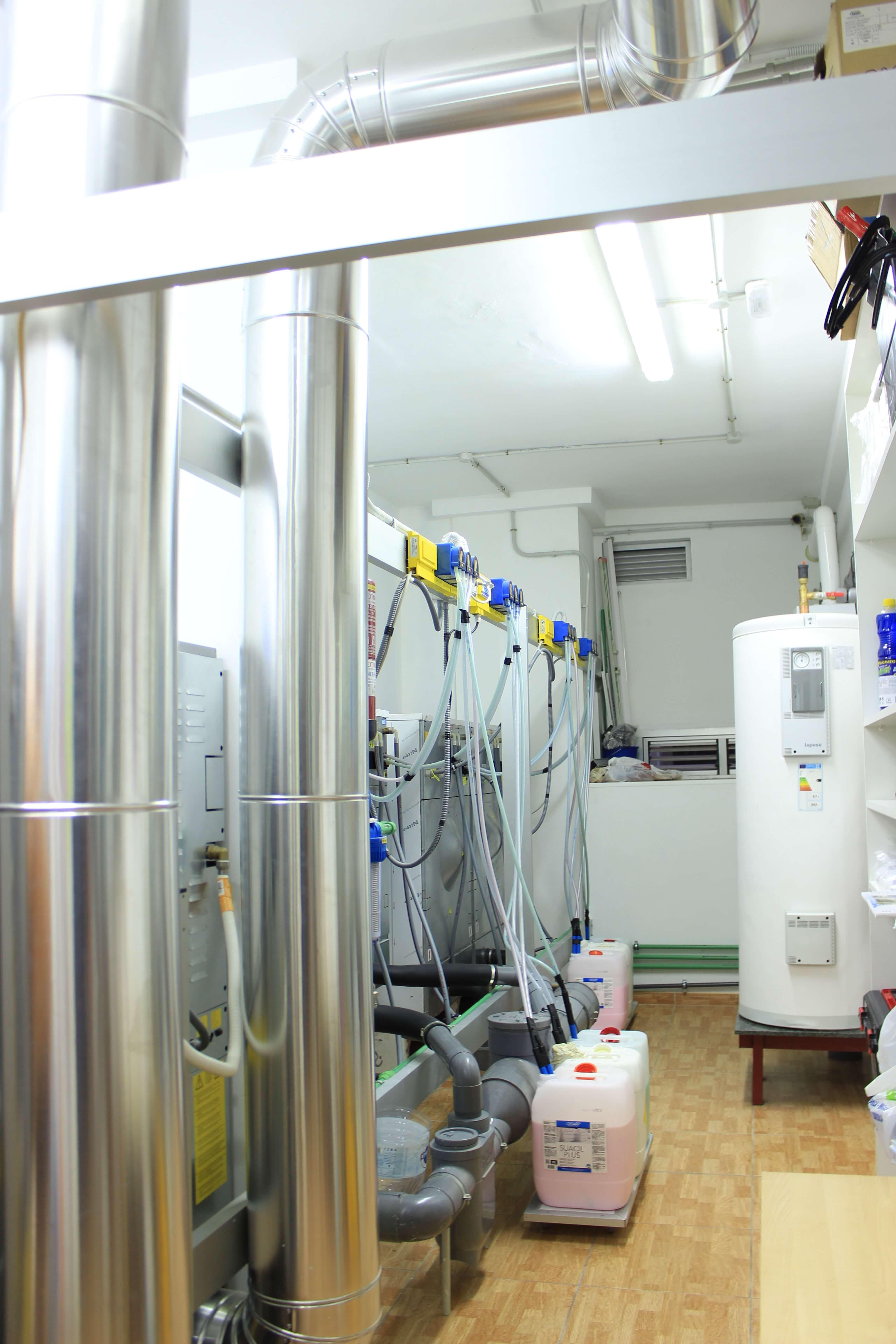 Sala de mantenimiento